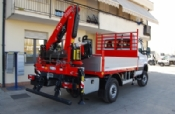 IVECO DAILY 55 S17 W 4x4 + FASSI F40A.0.23