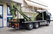 MAN TGS 26.540 + LOGLIFT 135 ZT